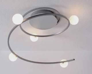 bopp leuchten loop led deckenleuchte 5 flammig dimmbar 32680509 leuchtenking. Black Bedroom Furniture Sets. Home Design Ideas