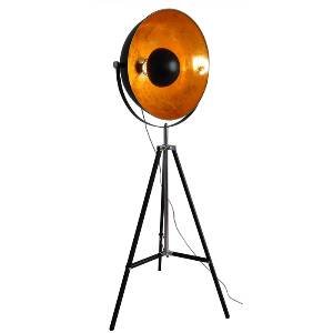 Stehleuchten & Stehlampen von KOLARZ Leuchten Trendline Austrolux Factory Stativ-Bodenleuchte - Ausstellungsstück - A1311.41.BkGo