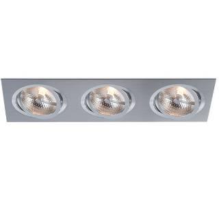 BPM Lighting Artikel von BPM Lighting KATLI Einbauleuchte 3- fach rechteckig 3052GU
