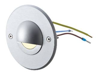 11102.830.01.00 side-light 230 V, rund, klar, Leuchtfarbe:  warmweiß der Firma dot-spot