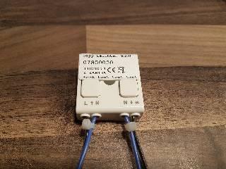 Dimmer von Bopp Leuchten CASAMBI Bluetooth- Nachrüstmodul für Bopp-Leuchten mit LED-Bändern 07800000