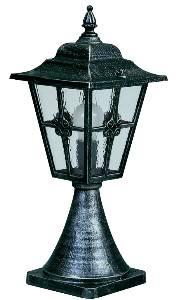 Albert Leuchten Artikel von Albert Leuchten Sockelleuchte, Alu, schwarz-silber 600532