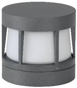 Deckenleuchten & Deckenlampen für außen von Albert Leuchten LED-Wand-, Decken-, Pfeilerleuchte, Alu, anthrazit 620326