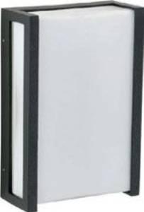 Deckenleuchten & Deckenlampen für außen von Albert Leuchten LED-Wandleuchte, Alu, schwarz 626400