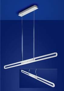 Hängeleuchte, Pendelleuchten & Hängelampen von B-Leuchten LED-Pendelleuchte L-OVER 20311/1-92