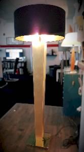 Tischleuchten, Tischlampen & Schreibtischleuchten von Fitz Leuchtenmanufaktur Viva Slim XL Bodenleuchte - Ausstellungsstück - 2598/LS-555525