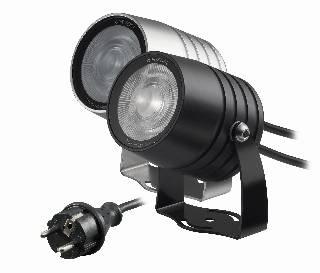 LED-Artikel von dot-spot clarios eco 230 V LED Garten- und Objektstrahler mit Honeycomb, Lichtfarbe kalltweiß 20506.850.15.52