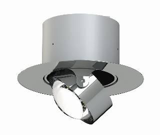 Top Light Leuchten Artikel von Top Light Leuchten Deckeneinbauleuchte Puk Inside rund + LED 7-71001
