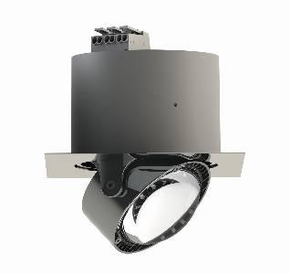 Einbauleuchten & Einbaulampen von Top Light Leuchten Deckeneinbauleuchte Puk Inside quadratisch + LED 7-72001