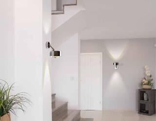 Puk Meg Maxx Next Wandleuchte / Deckenleuchte up- & downlight + G9 Fassung + LED Retrofit