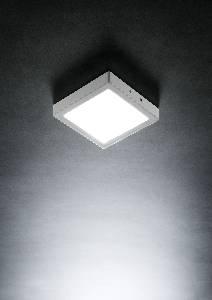 LED-Deckenleuchten & LED-Deckenlampen von LupiaLicht LED Deckenleuchte Veno S 3925/17-8