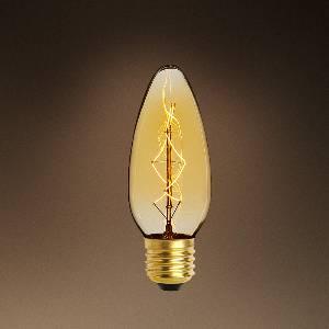 Glühlampen mit Fassung E27 von Eichholtz Leuchten Glühlampe Candle 25W E27 108217