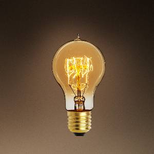 Glühlampen mit Fassung E27 von Eichholtz Leuchten Glühlampe A Shape 40W E27 108212