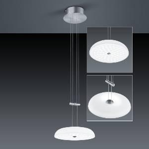 LED-Hängeleuchten & LED-Hängelampen von BANKAMP Leuchtenmanufaktur LED-Pendelleuchte Vanity/ Durchmesser 43 cm 2125/1-92