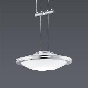 Hängeleuchte, Pendelleuchten & Hängelampen von BANKAMP Leuchtenmanufaktur LED-Pendelleuchte Saturno zur Strada 2146/1-92