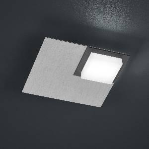 Deckenleuchten & Deckenlampen von BANKAMP Leuchtenmanufaktur LED-Deckenleuchte Quadro 7703/1-69