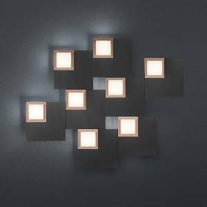 LED-Deckenleuchten & LED-Deckenlampen von BANKAMP Leuchtenmanufaktur LED-Deckenleuchte Quadro 7707/8-39