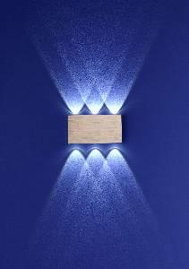 LED-Wandleuchten & LED-Wandlampen von B-Leuchten LED-Wandleuchte Stream 40088/6-74