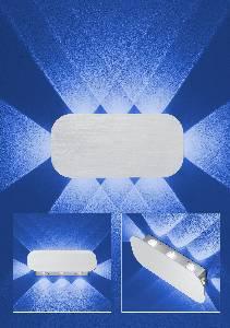 Sonderangebote - Sale bei Wandlampen & Wandleuchten von B-Leuchten LED-Wandleuchte PRINCE 40224/8-05