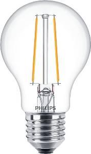 Glühlampen mit Fassung E27 von UNI-Elektro PHILIPS LEDClassic 5.5-40W E27 827 A60 CL 470 Lumen, warmweiß 5.5-40W E27 827 A60 CL
