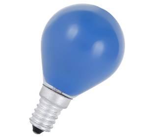 Glühlampen mit Fassung E14 von UNI-Elektro Glühlampe 230V 25W E14 blau, Tropfen 419951458
