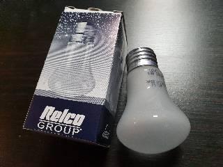 Glühlampen mit Fassung E27 von UNI-Elektro Leuci Krypton 60W E27 frosted LEUCI60W