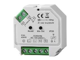 Dimmer von LED-KING ZigBee 3.0 Phasenabschnitt-Dimmer SR-ZG9101SAC-HP