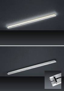 2157/155-33 Strada up and down LED- Schiene 155cm mit Tastdimmer der Firma BANKAMP Leuchtenmanufaktur