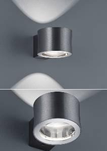 Wandleuchten & Wandlampen von BANKAMP Leuchtenmanufaktur LED-Wandleuchte Impulse 4325/1-39
