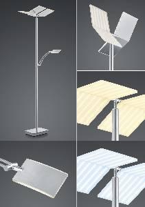 LED-Stehleuchten & LED-Stehlampen von B-Leuchten LED-Stehleuchte Domi / CCT Dimmtechnik 60426/2-92