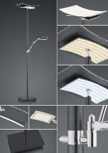 LED-Stehleuchten & LED-Stehlampen von B-Leuchten LED-Stehleuchte Liberty 60439/2-39