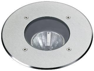 Einbauleuchten & Einbaulampen für Garten und Außenbereich von Albert Leuchten Erdeinbaustrahler, Edelstahl 692179