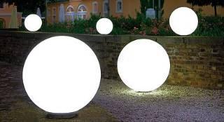 Snowball 80 cm Durchmesser ortsfest mit Bewegungsmelder/ ohne Zuleitung