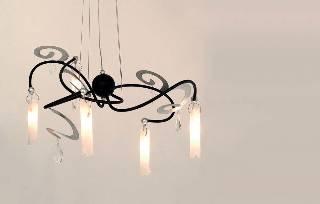 LED Hängeleuchte 5-fl g. CASINO