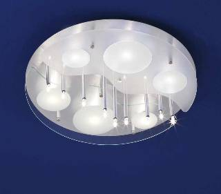 Deckenleuchten & Deckenlampen von B-Leuchten Dela Deckenleuchte Chur - Ausstellungsstück - 70119/15.36