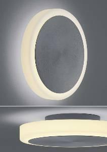 LED-Deckenleuchten & LED-Deckenlampen von BANKAMP Leuchtenmanufaktur Button LED-Wandleuchte/ Deckenleuchte / groß 4337/1-39