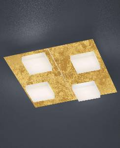 LED-Deckenleuchte Cube luce elevata/ 4 flammig