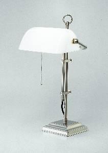 Berliner Messinglampen Artikel von Berliner Messinglampen Bankers Lamp Tischleuchte Glas grün W2-99gr N