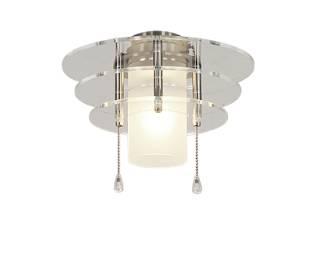Deckenventilatorleuchten von Casafan Deckenventilator Leuchte 6 BN 1093