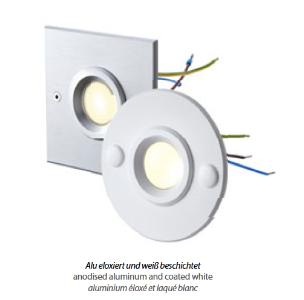 Einbauleuchten & Einbaulampen für Garten und Außenbereich von dot-spot object-light 230 V LED-Spot zum Einbau in tiefe UP-Dosen 10103.930.00.00