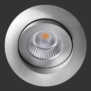 Einbauleuchten & Einbaulampen für Garten und Außenbereich von dot-spot sirka+ LED Deckeneinbauleuchte, rund, 96 mm, 30° schwenkbar, 360° drehbar 10241.923