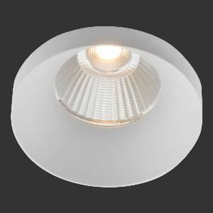 Einbauleuchten & Einbaulampen für Garten und Außenbereich von dot-spot tubolar L LED Deckeneinbauleuchte, mit 13 mm hoher runder Designblende, Ø 70 mm 10302.927