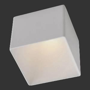 Einbauleuchten & Einbaulampen für Garten und Außenbereich von dot-spot tuboquar XL LED Deckeneinbauleuchte, mit 60 mm hoher quadratischer Designblende, 70x70 mm 10332.927