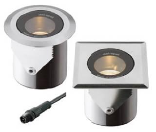 Einbauleuchten & Einbaulampen für Garten und Außenbereich von dot-spot brilliance-midi narrow LED Einbaustrahler, engstrahlend, blendfrei 33101.827.10.33