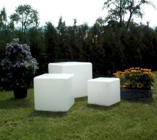 Würfelleuchten & Würfellampen für Garten & Outdoor von EPSTEIN Design Leuchten Würfel 45 cm 60455