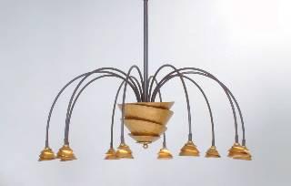 Hängeleuchte, Pendelleuchten & Hängelampen von Holländer Leuchten von Holländer Leuchten LED Hängeleuchte SNAIL TWO 300 K 1591 X