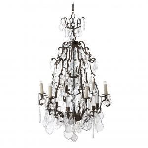 Hängeleuchte, Pendelleuchten & Hängelampen von Eichholtz Leuchten von Eichholtz Leuchten Luster Chateau De Wideville 106913