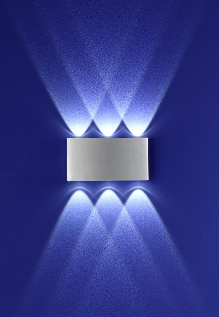 LED-Wandleuchten von B-Leuchten LED-Wandleuchte Stream 40088/6-05