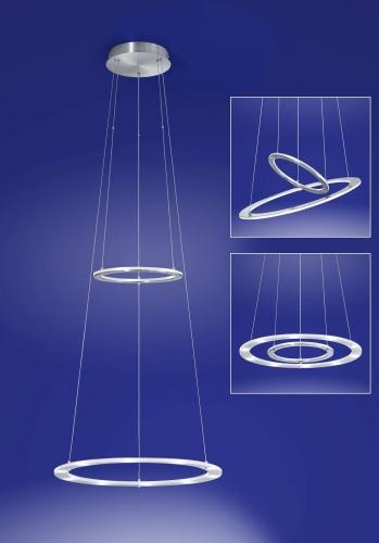 B-Leuchten Artikel von B-Leuchten MICA Pendelleuchte Bluetooth - Ausstellungsstück - 20255/2-92