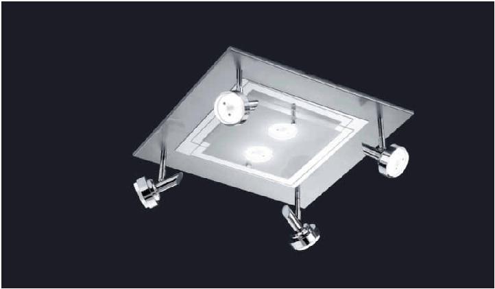 led wohnzimmerleuchten:BANKAMP Sika LED-Deckenleuchte  ~ led wohnzimmerleuchten